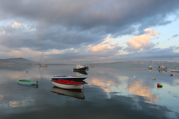 Morning Scene,  Ayvalik, Turkey