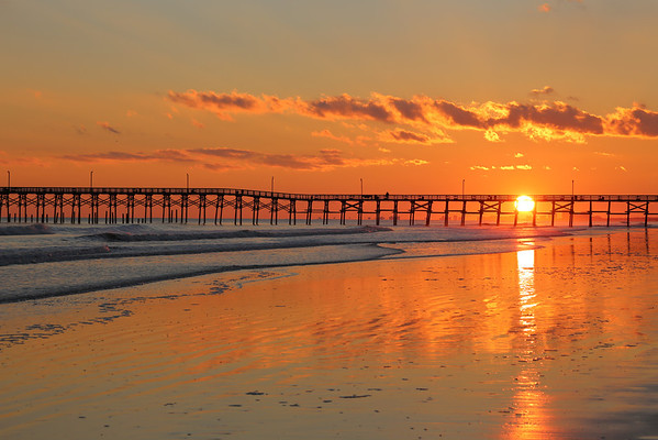 Sunset at Cherry Grove Beach, SC