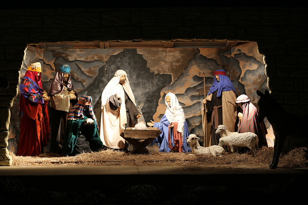 Nativity, Festival of Lights, Morman Temple, DC