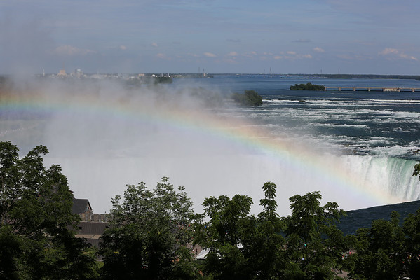 Niagara Falls, Rainbow on the Falls, Canada