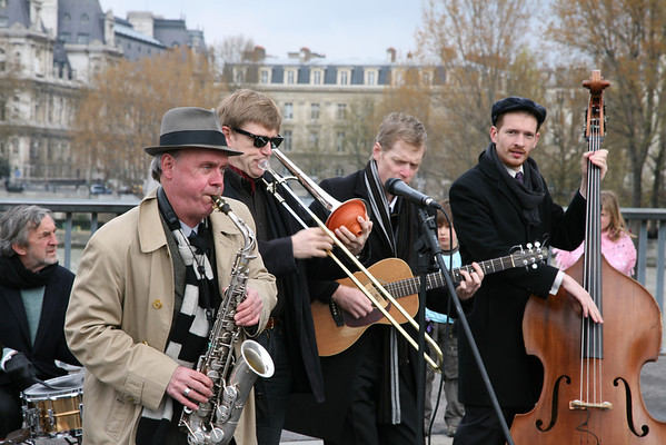 Street Musicians in Paris